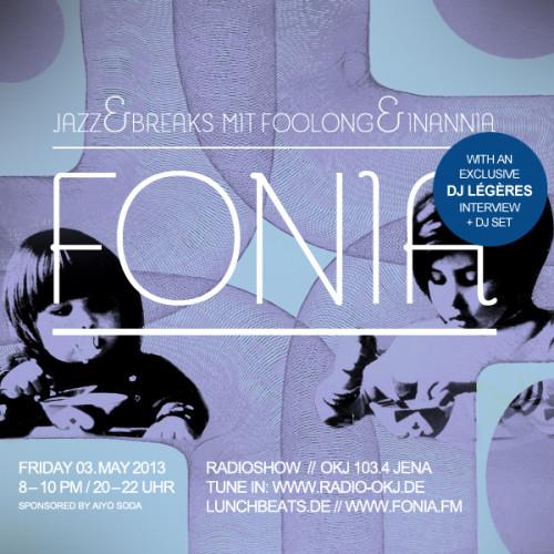 Fonia Session 12 – Guest: DJ Légères