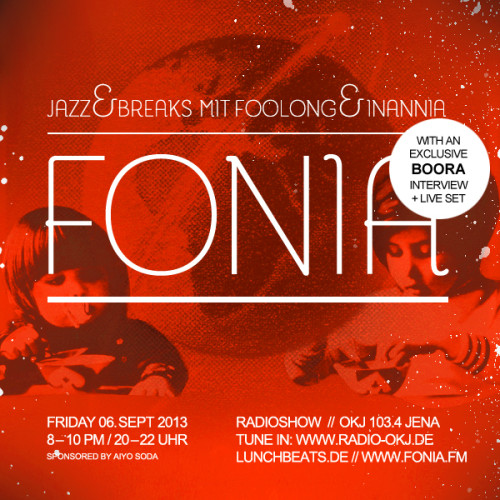 Fonia Session 16 – Guest: Boora