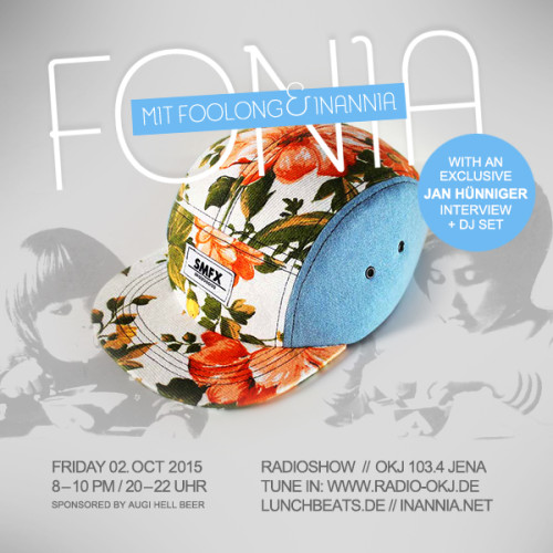 Fonia Session 34 – Jan Hünniger (aka SMFX)